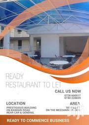 RESTAURANT SPACE TO LET | Commercial Property For Sale for sale in Nairobi, Nairobi South