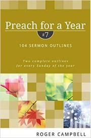 Preach For A Year-roger Campbell | Books & Games for sale in Nairobi, Nairobi Central