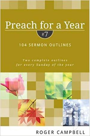 Preach For A Year-roger Campbell