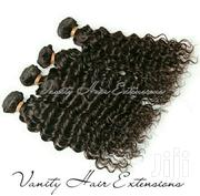 Peruvian Kinky Curly Human Hair 3 Bundles and Closure | Hair Beauty for sale in Nairobi, Kilimani