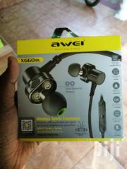 Awei X660bl Bluetooth Bass Earphones | Accessories for Mobile Phones & Tablets for sale in Nairobi, Nairobi Central