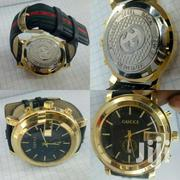 Leather Strap Gucci Watch | Watches for sale in Nairobi, Nairobi Central
