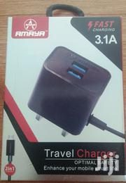Fashion Multi Fast Charger 3.1A Charge 3 Phones | Accessories for Mobile Phones & Tablets for sale in Mombasa, Mji Wa Kale/Makadara