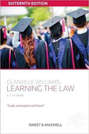 Learning the Law -Glanville Williams | Books & Games for sale in Nairobi, Nairobi Central
