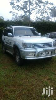 Toyota Land Cruiser Prado 2002 Silver | Cars for sale in Nyeri, Rware