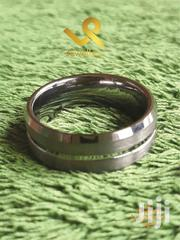 Bevelled and Unbrushed Matte Finish Tungsten Carbide Men Wedding Band | Jewelry for sale in Nairobi, Nairobi Central