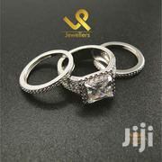 Bejewelled 7 Row Genuine Silver Ladies Engagements and Wedding Ring | Jewelry for sale in Nairobi, Nairobi Central