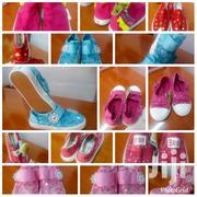 Children and Adult Rubber Shoes Creme Mtumba.   Children's Shoes for sale in Uasin Gishu, Kapsoya