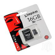 Kingston Technology SD Memory Card 16GB   Accessories for Mobile Phones & Tablets for sale in Nairobi, Nairobi Central