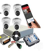 Hikvision 4-Camera Pack CCTV Kit,1 TB Hard Disk | Cameras, Video Cameras & Accessories for sale in Nairobi, Nairobi Central