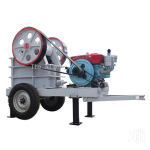 Pe-250x400 Jaw Crusher With Diesel Engine Export