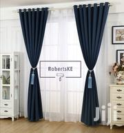 Curtain Linen Navy Blue Semi Blackout | Home Accessories for sale in Nairobi, Nairobi Central