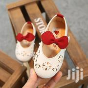 Beautiful Red Ribbon Shoes | Children's Shoes for sale in Mombasa, Shimanzi/Ganjoni