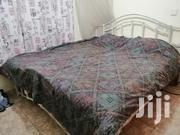 Antique 6x6 Bed With Orthopaedic Mattress | Furniture for sale in Nairobi, Kahawa