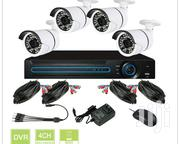 4 Cctv Camera Full Set | Cameras, Video Cameras & Accessories for sale in Mombasa, Changamwe