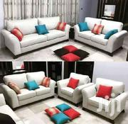 Cream Yellow Sofa | Furniture for sale in Uasin Gishu, Kimumu