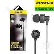 Awei ES690M 3.5mm Plug Wired Earphone Hifi Stereo Strong Bass In-Ear   Accessories for Mobile Phones & Tablets for sale in Nairobi, Nairobi Central