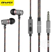 Awei Es660i Inear Lightweight Wired High Fidelity Bass Earphone   Accessories for Mobile Phones & Tablets for sale in Nairobi, Nairobi Central