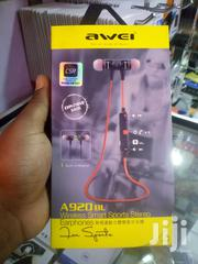 Awei A920BL In-Ear Earphone Wireless Bluetooth V4.1 Sports Earbuds | Audio & Music Equipment for sale in Nairobi, Nairobi Central