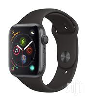 Apple Watch Series 4 (GPS, 44mm) Aluminium Case With Black Sport Band | Watches for sale in Nairobi, Nairobi Central