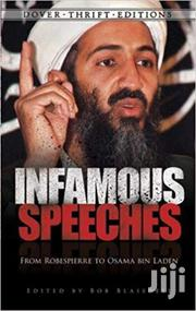 Infamous Speeches-bob Blaisdell | Books & Games for sale in Nairobi, Nairobi Central