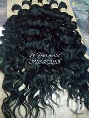 Semi Human Curly Weave Bundles | Hair Beauty for sale in Nairobi, Nairobi Central