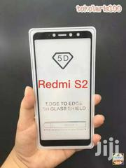 5D Full Cover Tempered Glass For Xiaomi Redmi S2 | Accessories for Mobile Phones & Tablets for sale in Nairobi, Nairobi Central