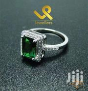 May Birthstone  Ladies Genuine Silver Engagement  Ring | Jewelry for sale in Nairobi, Lower Savannah
