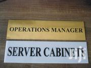 Signages- Engraving & UV Printing(Fire Exit Signs) | Other Services for sale in Nairobi, Nairobi Central