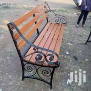 Metal And Wooden Bench | Furniture for sale in Nairobi, Ngando