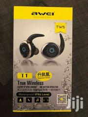AWEI T1 TWS 4.2 True Wireless Bluetooth Earbuds Sport Headphones | Accessories for Mobile Phones & Tablets for sale in Nairobi, Nairobi Central