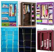 3 Columns Wooden Frame Portable Wardrobes | Furniture for sale in Nairobi, Maringo/Hamza