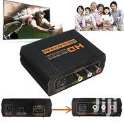 HDMI To RCA AV S-video Audio Video Converter Adapter | TV & DVD Equipment for sale in Nairobi, Nairobi Central