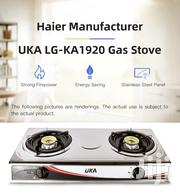 UKA Stainless Steel Table Top Double Burner Gas Stove -LG-KA1920 | Restaurant & Catering Equipment for sale in Laikipia, Nanyuki