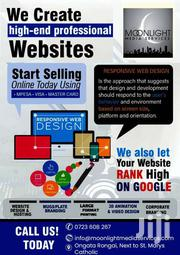 RESPONSIVE WEB DESIGN (WEBSITE) SERVICES WITH SEO | Computer & IT Services for sale in Kajiado, Ongata Rongai