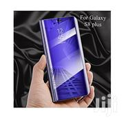Samsung S8 Plus Black Clear Flip Cover | Accessories for Mobile Phones & Tablets for sale in Nairobi, Kahawa West