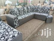 Stylish Modern Quality Ready Made Corner Seat Together With Sofa Bed | Furniture for sale in Nairobi, Ngara
