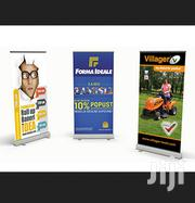 Narrow Base Roll Up Banner Printing Full Color High Quality Full Color | Computer & IT Services for sale in Nairobi, Nairobi Central