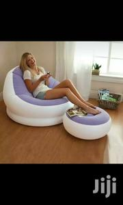 Intex Seat With Footrest(Blue,Yellow And Purple) | Furniture for sale in Nairobi, Nairobi Central