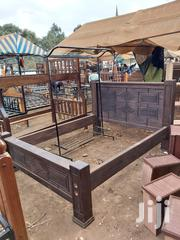 5x6 Ready Made Bed Made Of Pure Mahogany Wood   Furniture for sale in Nairobi, Embakasi