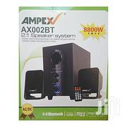 Ampex AX002BT 2.1 Bluetooth Subwoofer Speakers - 8800W - Black | Audio & Music Equipment for sale in Nairobi, Nairobi Central