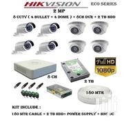 Eight 8 Hikvision 1080P 2mp Complete CCTV Cameras | Cameras, Video Cameras & Accessories for sale in Nairobi, Nairobi Central
