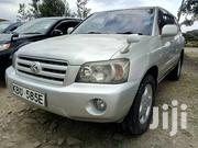Toyota Kluger 2006 Silver | Cars for sale in Nairobi, Kahawa West