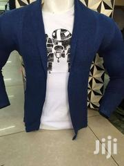 Men's Slim-fit Long-sleeve V-neck Cardigan Sweater | Clothing for sale in Nairobi, Nairobi Central