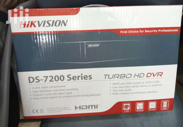 Archive: Hikvision Turbo HD 1 Megapixel 720p 4 Channel CCTV Camera