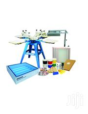 Screen Printing Machine 4 Color 4 Station Screen | Printing Equipment for sale in Nairobi, Nairobi Central