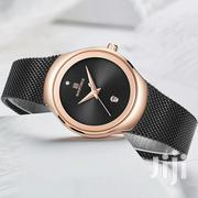 Rose Gold and Black Ladies Mesh Strap Watch | Watches for sale in Nairobi, Nairobi Central