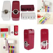 Automatic Hands Free Toothpaste Dispenser & 5 Toothbrush Holder Set | Home Accessories for sale in Nairobi, Nairobi Central