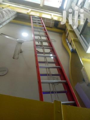 9 Meter Double Extension Fibre Ladder