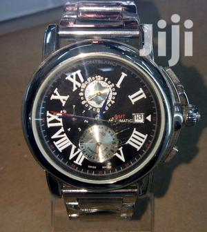 Montblanc Silver Automatic
